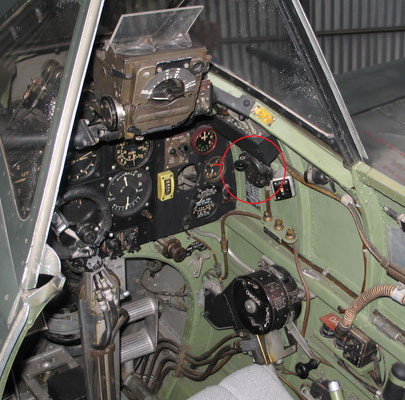 Switchbox Identification Type B. Spitfire cockpit.