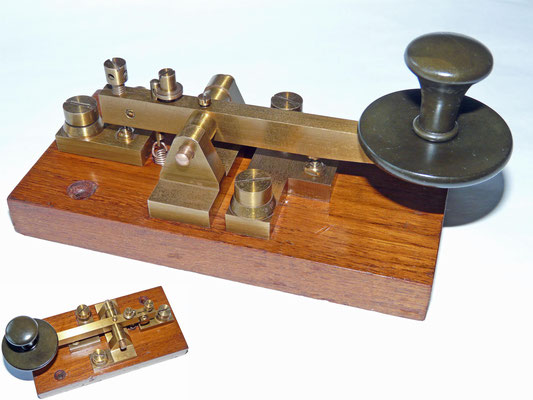 The GPO single current keys are based on a design that originates from the ~1880's and built by many makers, including Walters Electrical, GPO factories at Silvertown, Holloway in London, ATM Liverpool.
