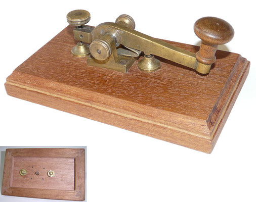 Austria - After restoration. Camelback telegraph Key. Circa 1875