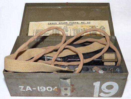 Case spare parts No5C. ZA-1904