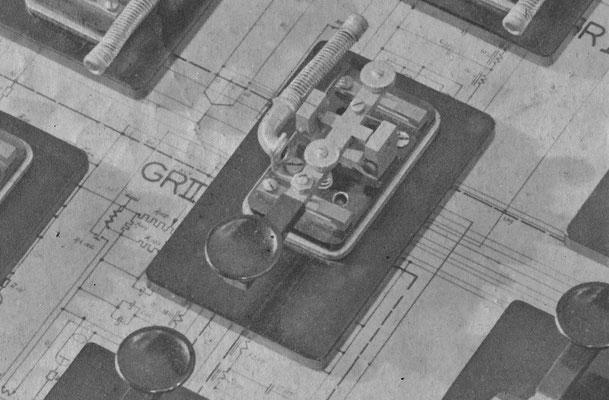 Photo from the book 30 years NSF. Nederlandsche Seintoestellen Fabriek.  (Dutch signal equipment factory).