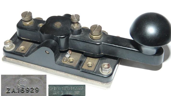 Key WT 8 AMP No2 MK III. © ZA.16929.