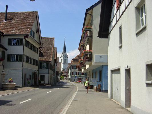 Zwitserland met Nellie.