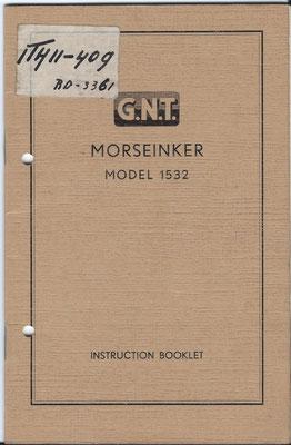 G.N.T. Morseinker Model 1532