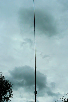 HWmonopole. End Fed antenna for 10 en 20 meter.