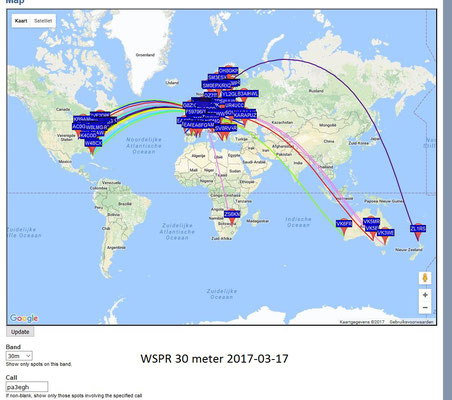 WSPR 30 Meter