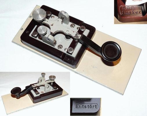 Junker Key. 1935. Marked D.R.P. (Deutsches ReichPatent).