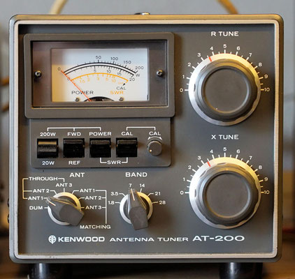 Antenna tuner AT-200.