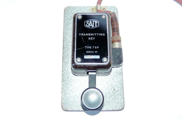Sait transmitting key type 7 B9.