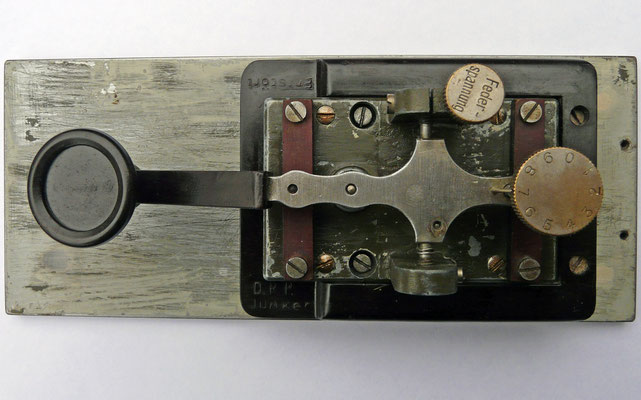 Junker Key 1931. Marked D.R.P. (Deutsches ReichPatent)
