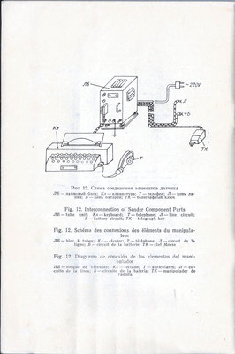 Technical description and operating instructions