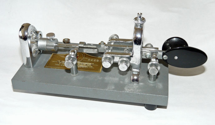 The VibropleX Original bug. The Vibroplex company INC.