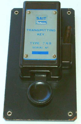 With the inscription (sait transmitter key)