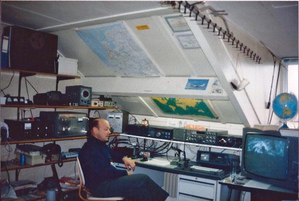 My radio room 1988.  Kenwood TS-790 / Kenwood TS-930.