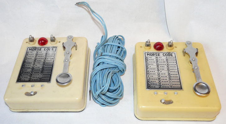 Space Station Morse Code Signalling Set