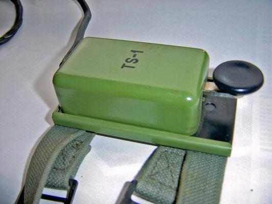 Morse code telegraph key. TS-1 Used by JNA in former Yugoslavia, Serbia.