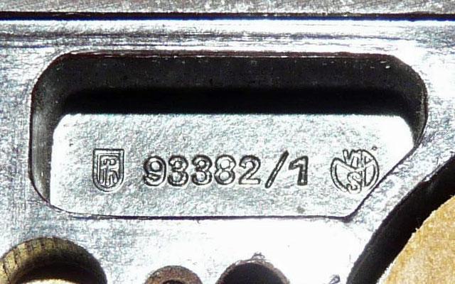 German - Junker Key. Prevent sparking. 1932. Marked 93382/1