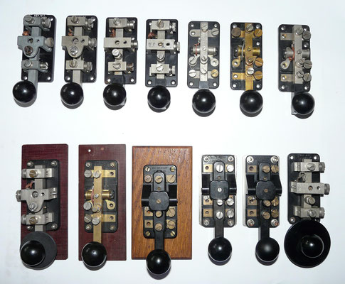Key. WT 8 AMP key. Made in many variations and in large quantities.