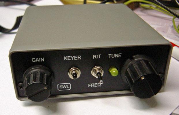 De DSW-80 is een homemade QRP CW zend ontvanger voor de 80meter band