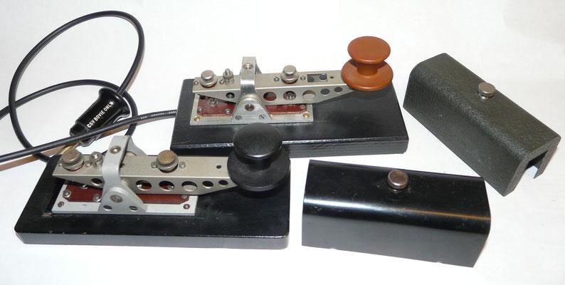 Made by N.S.F. Nederlandsche Seintoestellen Fabriek.