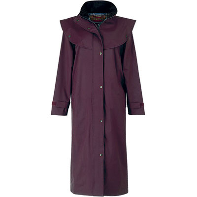 Manteau de pluie court Costwold - Blackberry