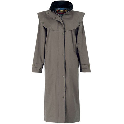 Manteau de pluie long Malvern- Chinchilla