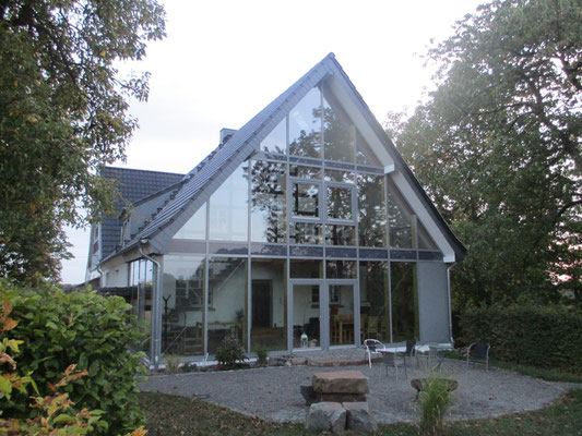 Holz und Glas: eine fantastische Kombination