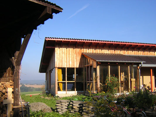 Strohballenhaus in Hennef-Süchterscheid