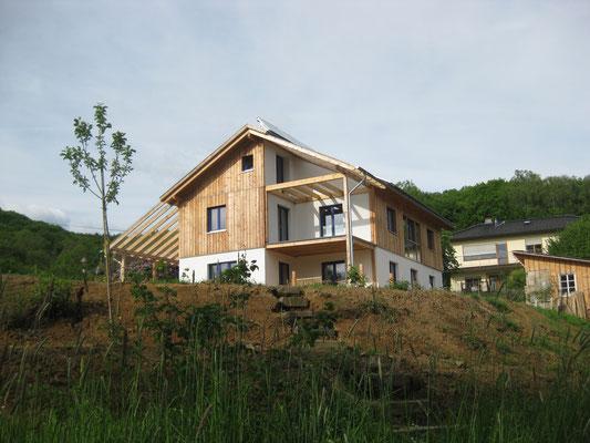 Strohballenhaus in Windeck-Schladern