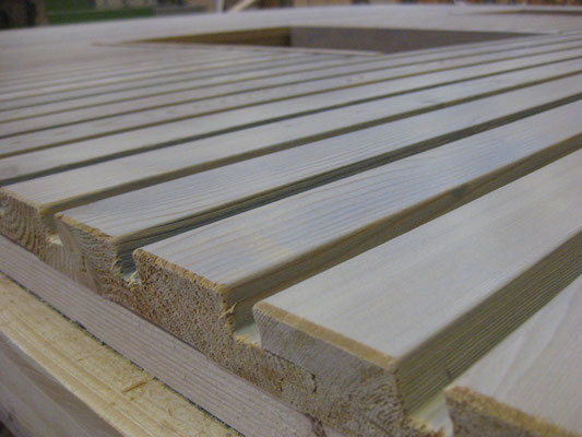High-Tec Holzfassade