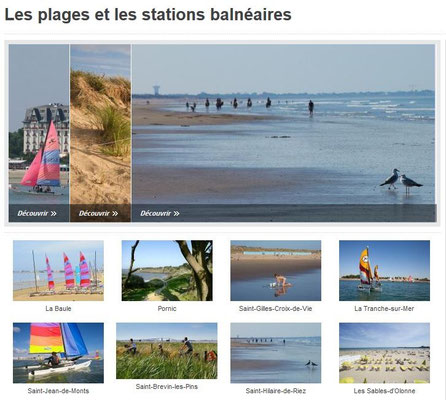 Beaches in Pays de Loire