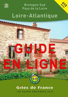 Guide des Gites de France Loire Atlantique en ligne