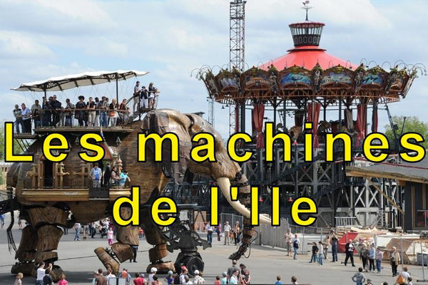 Les machines de l'Ile, the elephant and the carrousel