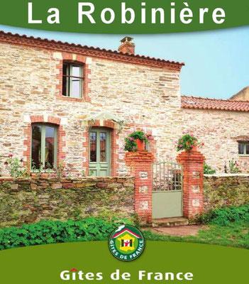 Site des Gites de France : Gite La Robinière