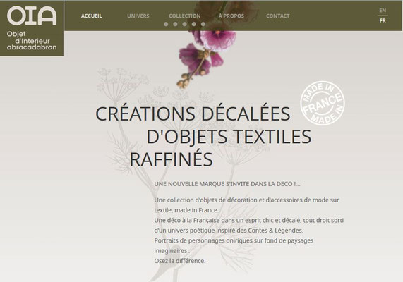 OIA -  REFINED AND OFFBEAT TEXTILE CREATIONS