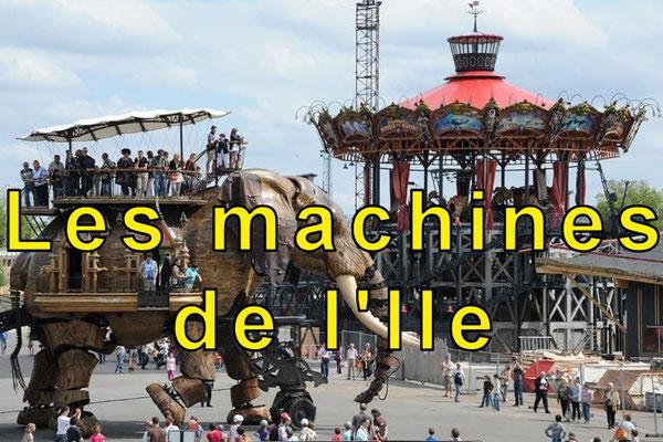 Les machines de l'Île, l'éléphant et le Carrousel