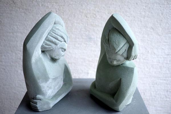 Nonverbale / Steinguss / Anna Erdin