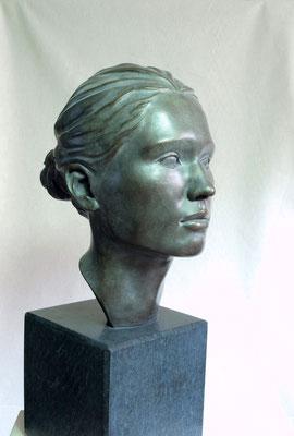 Portrait / Bronze / Andreas Lindegger