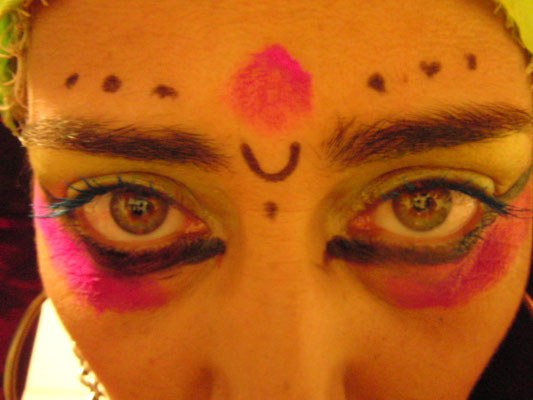 Kali facepaintings with style