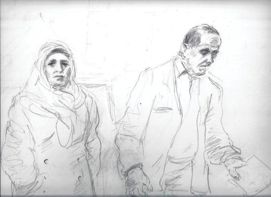 Das Ehepaar Yozgat, die Eltern des ermordeten Internetcafebetreibers Halit Yozgat (21)
