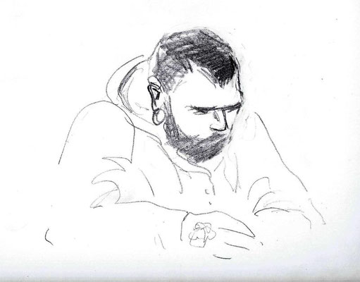 Der Angeklagte Andre E.