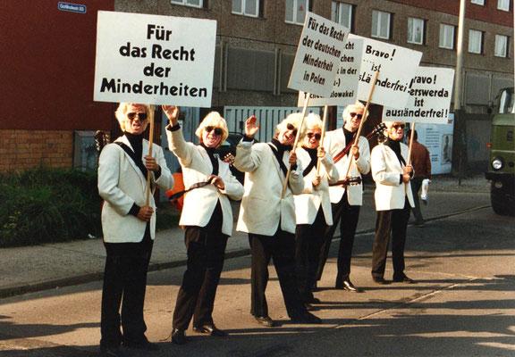 Ein blonder Sänger, Berlin 1993