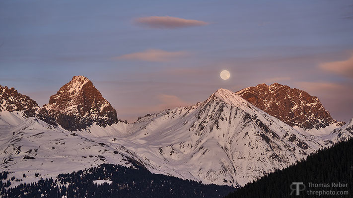 Switzerland, Savognin, Piz Ela