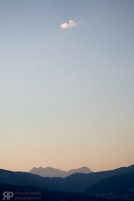 Switzerland, view from Lugano