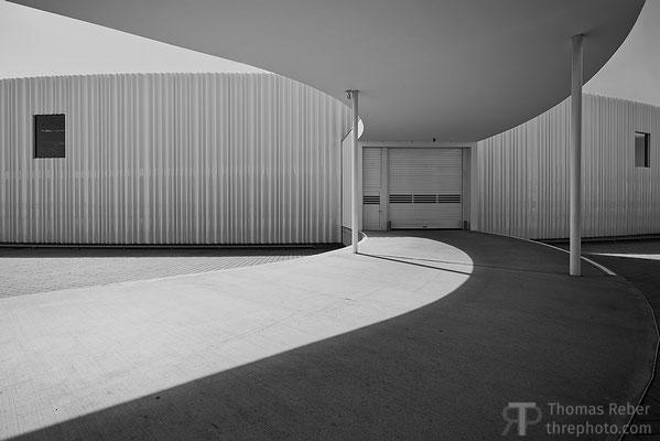 Germany, Weil am Rhein, Vitra design museum, factory building