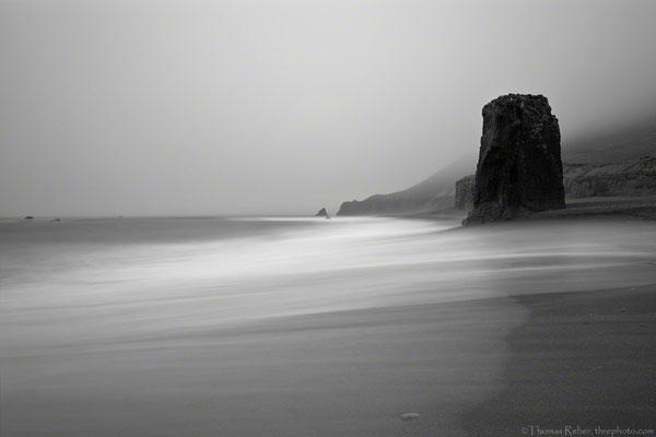 Iceland, beach on the south-east coast
