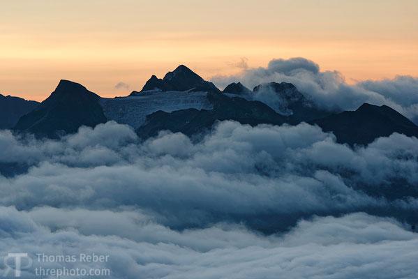 Switzerland, view from the Eggishorn