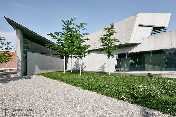 Germany, Weil am Rhein, Vitra Campus, Fire station, Zaha Hadid
