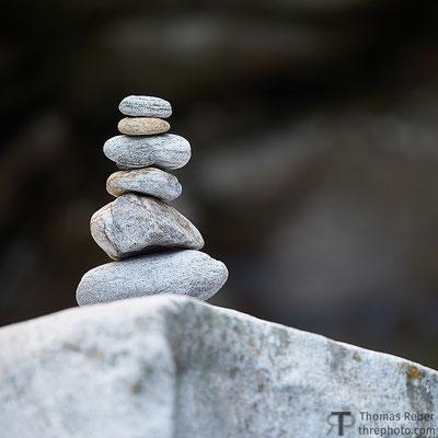 Switzerland, ometto di pietra