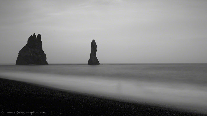 Iceland, Vik, Black beach